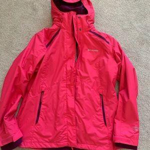 EUC Columbia interchange 2in1  jacket